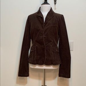 American Eagle Brown Corduroy Blazer